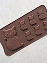 Cake Moulds För Godis Tårta för choklad Is Bröd Silikon Gummi Kiselgel GDS (Gör det själv) Fastnar ej Bakning Verktyg