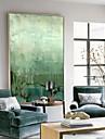 abstrakt Oljemålning Väggkonst,syntetisk Material med ram For Hem-dekoration ramkonst Vardagsrum