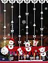 Konst Dekor Nyår Jul Fönsterklistermärke, PVC/Vinyl Material fönster~~POS=TRUNC Vardagsrum Butik / Cafe