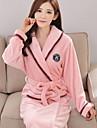 Pentru femei Costume Pijamale, Gros Poliester Mată Fucsia