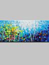 Pictat manual Peisaj Orizontal, Simplu Modern pânză Hang-pictate pictură în ulei Pagina de decorare Un Panou