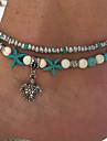 Pentru femei Brățară Gleznă / Brățări Turcoaz Aliaj Boem Modă Έθνικ Bijuterii Turcuaz gleznă brățară Circle Shape Broasca testoasa