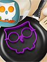 Ustensile de bucătărie Silicon Instrumentul de coacere / Bucătărie Gadget creativ / Reparații Mold DIY / Ustensile Ou pentru ou 1 buc