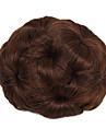 Chignon-nakkeknuder Hår knold updo Snørelukning Syntetisk hår Hårstykke Hårpåsætning Jordbær Blond / Medium Kastanjerød / Sort / Mørkebrun / Mellem kastanjerød