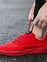 בגדי ריקוד גברים PU אביב / סתיו נוחות נעלי אתלטיקה ריצה מונע החלקה אפור / אדום / כחול