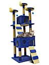 Pisici Case Lemn Artă Mixă Animale de Companie  Pentru Linii Mată Modă Jumping Multistratificat Απαλό Pliere cadou prietena Επαγγελματικά