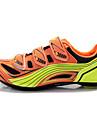 Tiebao® Homme Chaussures de Velo de Route Nylon Cyclisme / Velo Etanche, Antiderapant, Coussin PU de microfibre synthetique Noir / Orange