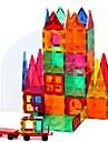 マグネットブロック 磁気タイル ブロックおもちゃ 60 pcs アーキテクチャ 変形可能な ビンテージ 男の子 女の子 おもちゃ ギフト