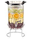 Glas Rostfritt stål/järn Hög kvalitet transparent kropp Mat förråd 1st Kök Organisation