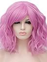 Parrucche sintetiche Poco ondulata Biondo Capelli sintetici Rosso / Blu / Biondo Parrucca Per donna Corto Senza tappo Biondo scuro / Rosa