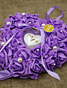 Material Mărgele Imprimare Plastic Bumbac Pernuță inel Vacanță Temă Clasică Romantic Nuntă Primăvară, toamnă, iarnă, vară Toate Sezoanele