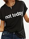 Pentru femei Tricou Simplu-Scrisă