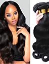 3 Buendel Brasilianisches Haar Grosse Wellen 10A Unbehandeltes Haar Menschenhaar spinnt Menschliches Haar Webarten Haarverlaengerungen