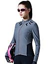 SANTIC 女性用 長袖 サイクリングジャージー - グレー バイク ジャージー