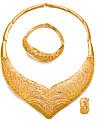 Pentru femei Set bijuterii - Placat Auriu Modă, Declarație Include Auriu Pentru Nuntă / Petrecere