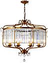 LightMyself™ Retro / Vintage Rustique Lustre Lampe suspendue Lumiere d'ambiance - Cristal, 110-120V 220-240V Ampoule non incluse