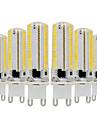 YWXLIGHT® 6pcs 7W 600-700 lm G9 LED-lampor med G-sockel T 152 lysdioder SMD 3014 Bimbar Varmvit Kallvit 110-130V 220V-240V