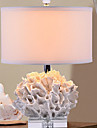 Modern Dekorativ Bordslampa Till Harts 220-240V Vit