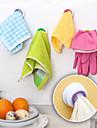 4pcs Porte-vaisselle PVC Facile a Utiliser Creative Kitchen Gadget Creatif Organisation de cuisine