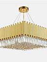 QIHengZhaoMing Cristal Lumini pandantiv Lumini Ambientale - Protecție Ochi, 110-120V / 220-240V, Alb Cald, Bec Inclus / 15-20㎡