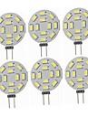 SENCART 6pcs 5W 360lm G4 Becuri LED Bi-pin T 12 LED-uri de margele SMD 5730 Decorativ Alb Cald / Alb Rece 12-24V