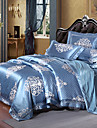 Bettbezug-Sets Luxus Seide / Baumwolle Jacquard 4 StueckBedding Sets / >800