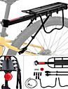 Bike Cargo Rack Enkel att sätta på, Ultratunt tyg Cykling / Cykel / Mountainbike Aluminum Alloy Svart