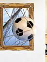 Wall Decal Autocolante de Perete Decorative - Autocolante perete plane Fotbal #D Re-poziționabil Detașabil