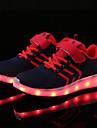 Αγορίστικα Παπούτσια Πλεκτό / Τούλι Καλοκαίρι Ανατομικό / Φωτιζόμενα παπούτσια Αθλητικά Παπούτσια LED για Σκούρο μπλε / Μαύρο / Άσπρο /