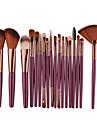 18pcs Make-up pensler Professionel Eyelinerbørste Blush-børste Læbebørste Makeupbørstesæt Professionel Plastik