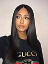 Remy-hår Peruk Brasilianskt hår Rak 150% Densitet Med Babyhår Med blekta knutar Naturlig hårlinje Korta Lång Mellanlängd Dam