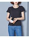 Pentru femei Bluză De Bază - Mată Buline