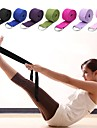 Yoga Strap Textile Stretch Durable Adjustable D-Ring Buckle Physical Therapy Stretching Improve Flexibility Yoga Pilates Exercise & Fitness For Unisex