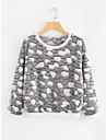 Pentru femei Tricou Vintage-Mată Franjuri