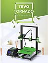 tevo® tornado diy kit de imprimare 3d 300 * 300 * 400mm dimensiune mare de imprimare 1,75mm 0,4mm suport duză off-line imprimare - 110v