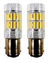 2pcs BAY15D (1157) / 1157 Motocykl / Samochód Żarówki 5 W SMD 7020 33 LED Kierunkowskazy / Motocykl / Tail Light For Univerzál / Volvo /