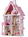 Casa de Boneca Grande Fabricado a Mao Casa 1 pcs Pecas Criancas Adulto Para Meninas Brinquedos Dom