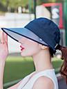 Chapeau Ete Pare-Soleils / Amovible / zip YKK Randonnee / Activites Exterieures / Voyage Femme Toile Classique