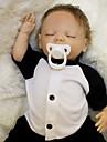 OtardDolls Reborn-dukker Babydrenge 18 inch Silikone - Nyfødt livagtige -ko Venlig Gave Børnesikker Ikke Giftig Børne Unisex / Pige Legetøj Gave / CE / Floppy Head / Tippede og forseglede negle
