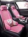 ODEER Kliny do siedzenia Pokrowce na siedzenia Czarny / Różowy Włókienniczy / Sztuczna skóra Zwykły Na Univerzál Wszystkie roczniki Wszystkie modele
