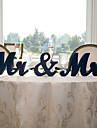 di legno N / D Decorazioni Cerimonia - Matrimonio Matrimonio