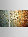 ζωγραφισμένο στο χέρι σύγχρονη αφηρημένη τέχνη καμβά παγώνι πίνακες τοίχο σπίτι διακόσμηση τρία πάνελ έτοιμα να κρεμάσουν
