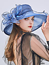 Tulle Headwear with Cap 1pc Wedding / Party / Evening Headpiece
