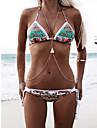 Turcoaz Crossover Corp lanț / burtă lanț / Colier ham - Reșină, Turcoaz Strat dublu, Bikini Pentru femei Argintiu / Auriu Bijuterii de corp Pentru Zilnic / Casual / Plajă