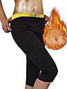 Body Shaper Slimming Pants Capris Leggings Neoprene Stretchy Hot Sweat Weight Loss Tummy Fat Burner Tummy Control Yoga Exercise & Fitness Bikram For Men\'s Women\'s Leg Abdomen Training