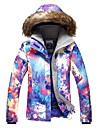 GSOU SNOW Femme Veste de Ski Lunettes de Ski Ski Sports d\'hiver Ski Sports d\'hiver Polyester Hauts / Top Tenue de Ski / Hiver