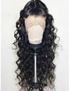 レミーヘア人毛 フロントレース かつら スタイル ブラジリアンヘア ウェーブ かつら 130% 毛の密度 ベビーヘアで ナチュラルヘアライン 晒された結び目 女性用 ロング 人毛レースウィッグ