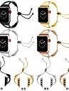 Pulseiras de Relogio para Apple Watch Series 4/3/2/1 Apple Pulseira Esportiva / Fecho Classico Aco Inoxidavel Tira de Pulso