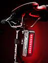 Achterlicht fiets LED Fietsverlichting Wielrennen Waterbestendig, Draagbaar, Snelsluiting Batterij 50 lm Rood Fietsen