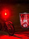 LED Kerékpár világítás Kerékpár hátsó lámpa biztonsági világítás hátsó lámpák Hegyi biciklizés Kerékpározás Vízálló Gyors kioldású Li-on akkumulátor 150 lm Piros Kerékpározás - PROMEND / ABS